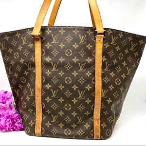Auth Louis Vuitton Sac Shopping Tote